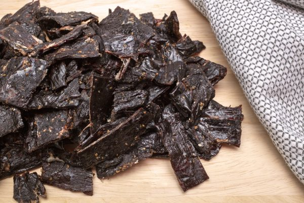 cracked pepper jerky