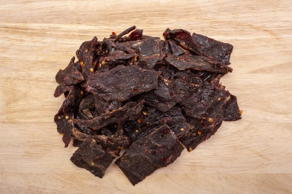 conrads deli hot beef jerky
